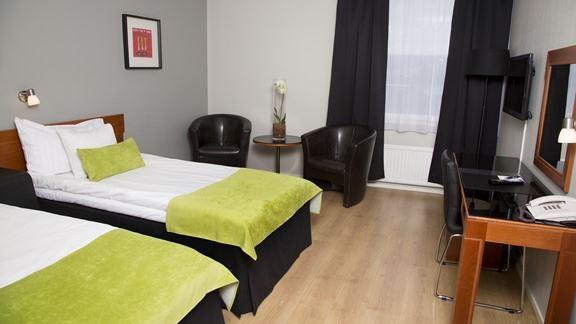 Best Western Hotell Ett Dubbelrum separata sängar