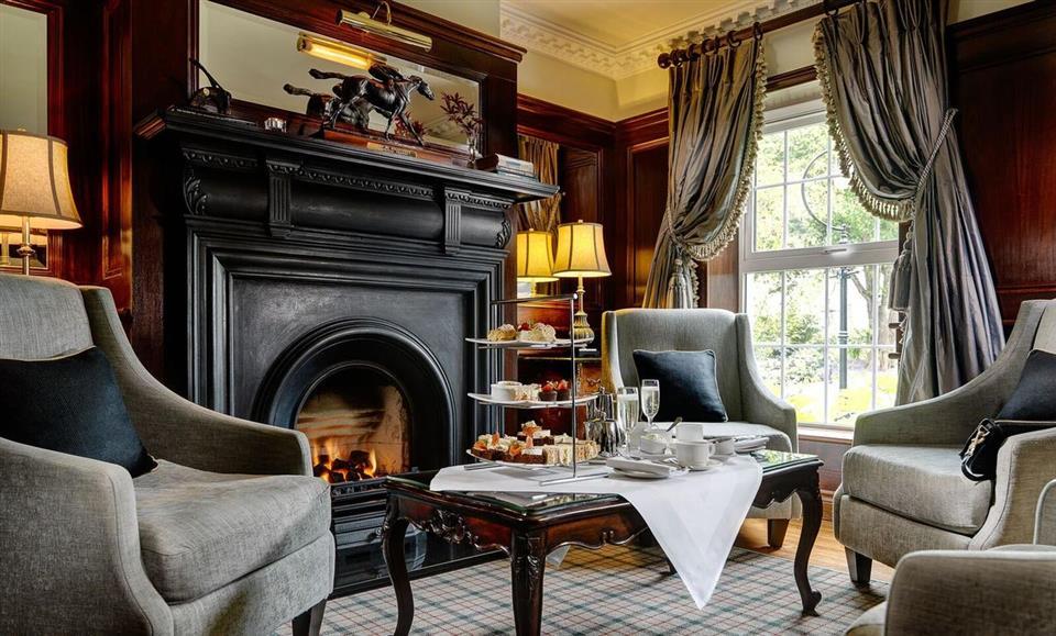 Ballygarry  House Hotel afternoon tea