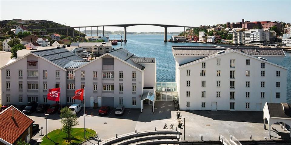 Thon Hotel Kristiansund Fasad