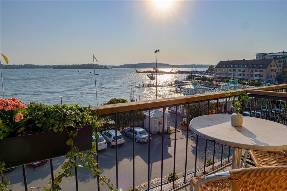 Waxholms Hotell - Vaxholm Utsikt från balkong