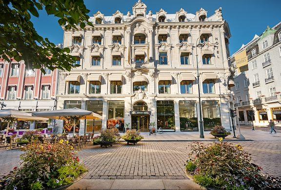 Karl Johan Hotell Fasad