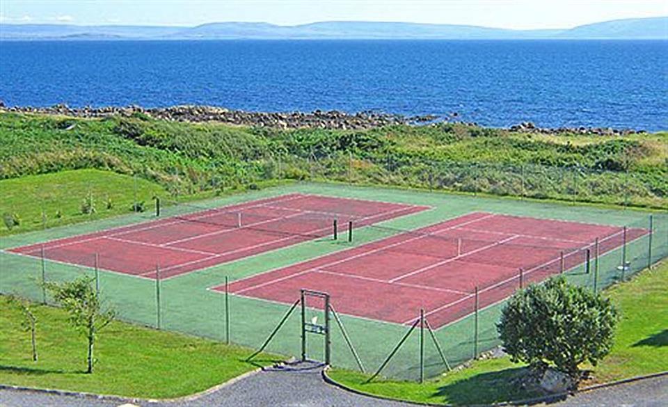 Connemara Coast Hotel Tennis Court