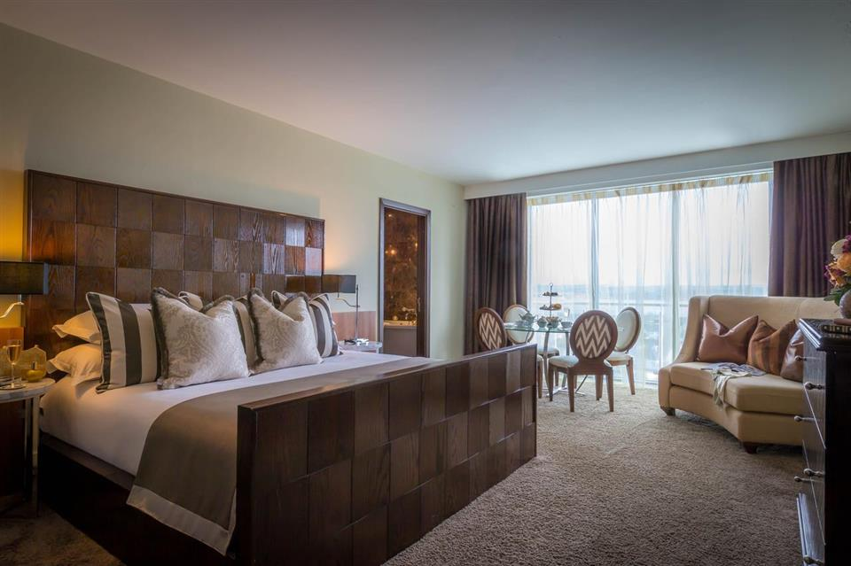 Loughrea Hotel upgrade bedroom