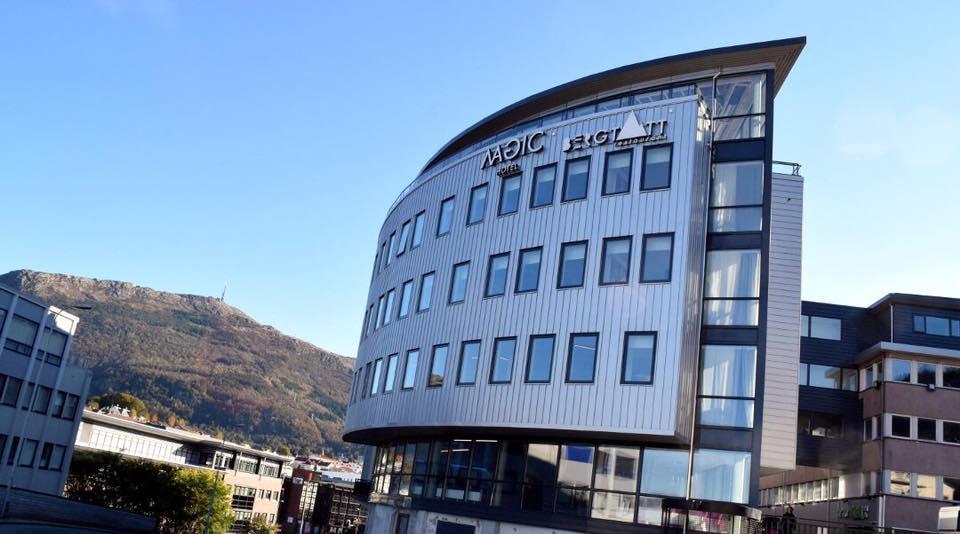 Magic Hotel Solheimsviken Fasad