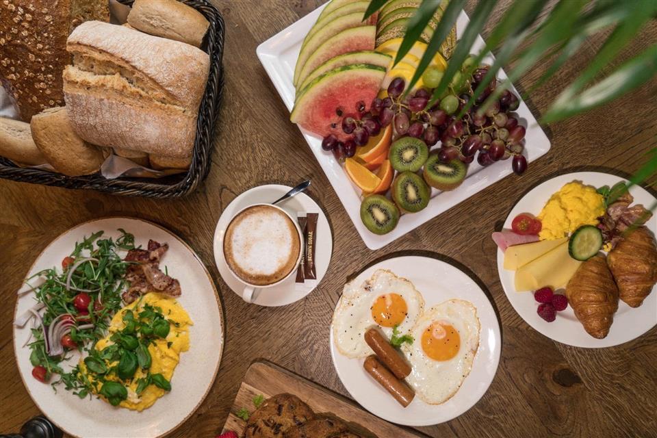 Magic Hotel Korskirken Frukost