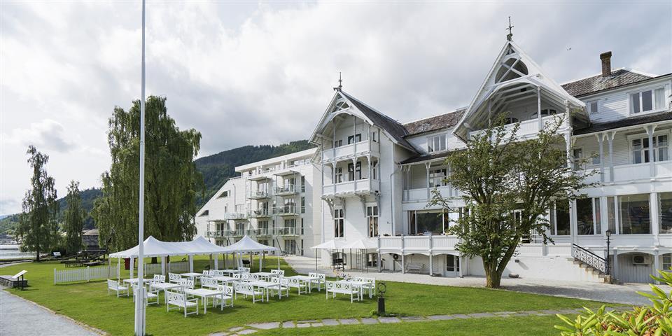 Thon Hotel Sandven Uteplats