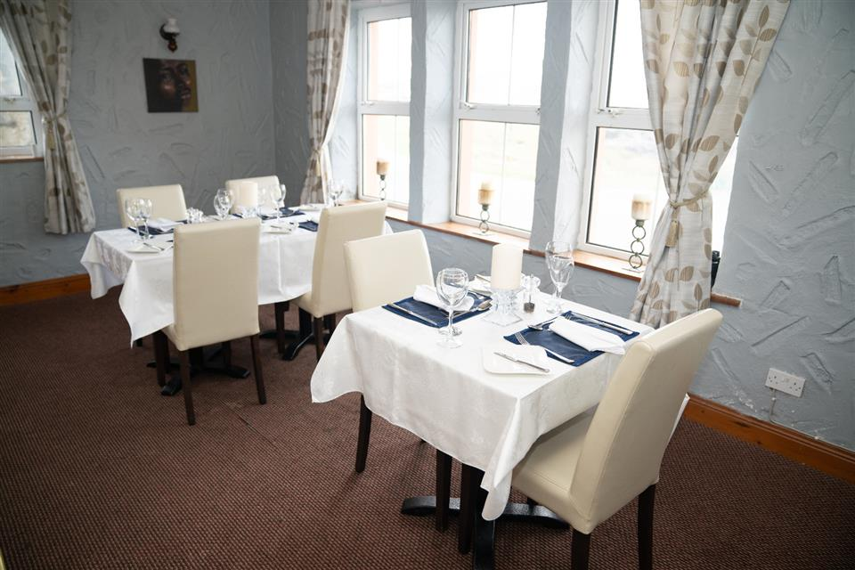 Tory Island Harbour view restaurant