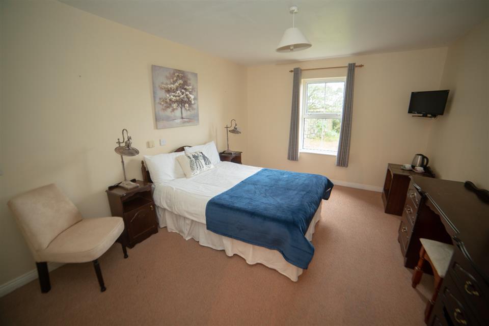 Tory Island Harbour view bedroom