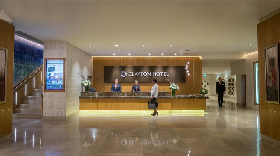 Clayton Hotel Burlington Road Reception