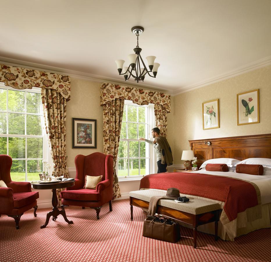 The K Club Hotel Bedroom