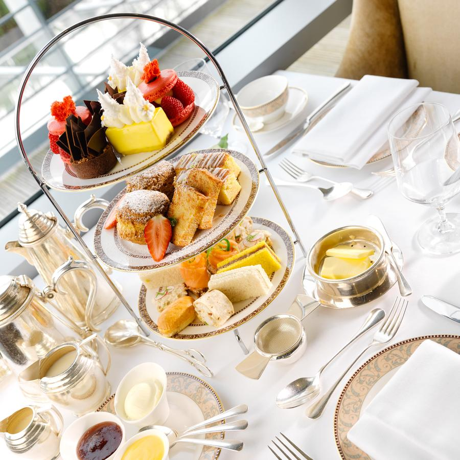 Aghadoe Heights Hotel afternoon tea