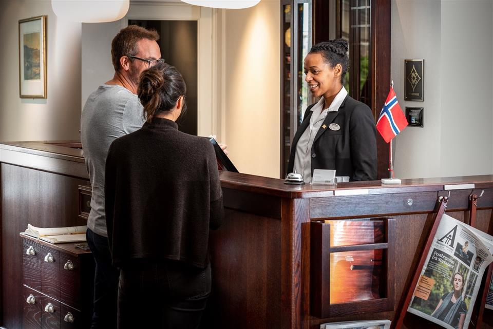 Kronen Gaard Hotell Reception