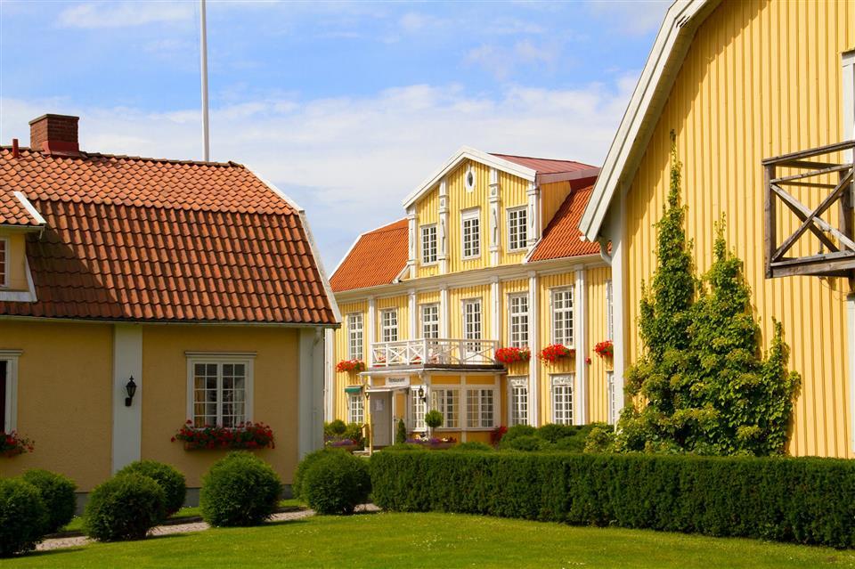 Ronnums Herrgård Fasad
