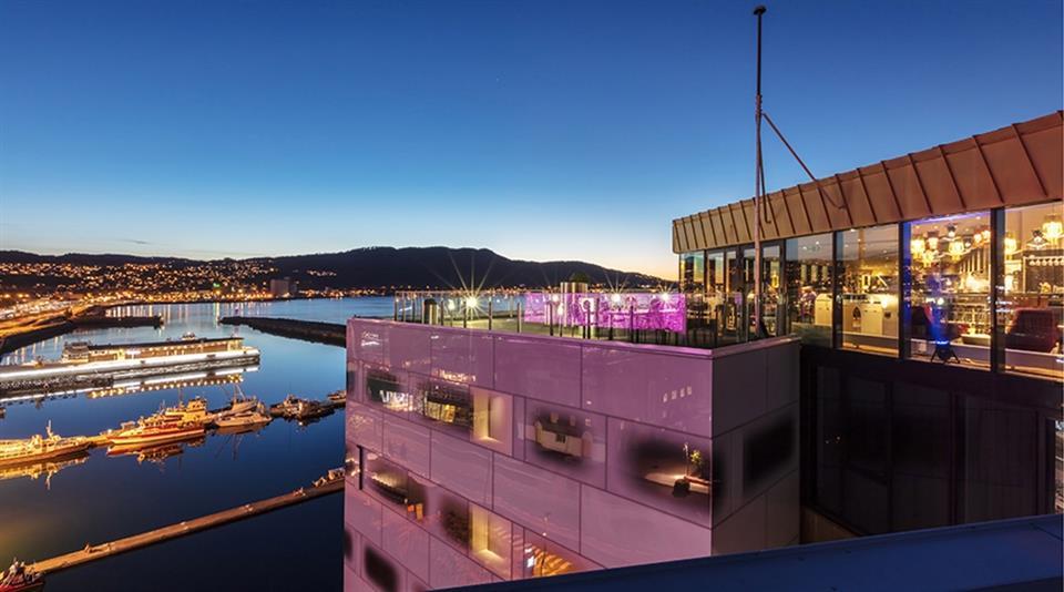 Clarion Hotel Trondheim Fasad