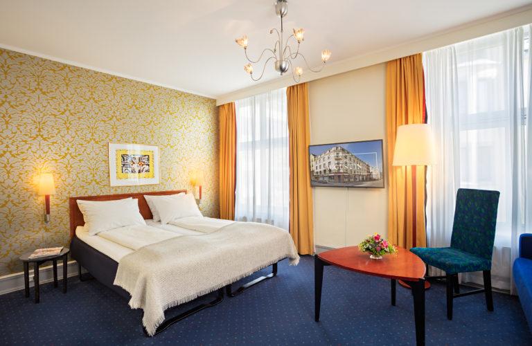 Augustin Hotel Familjerum