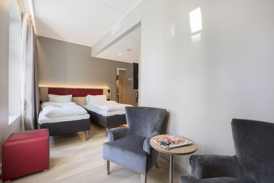 Bergen Harbour Hotel Twin Room