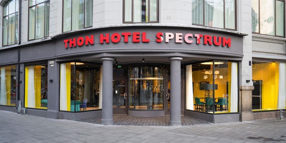Thon Hotel Spectrum Fasad