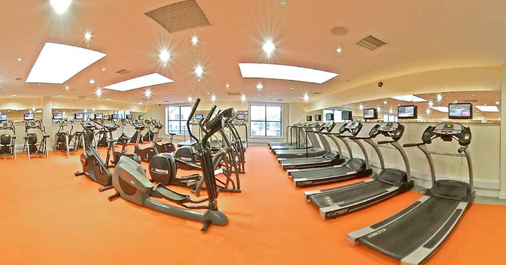 Connacht Hotel Gym