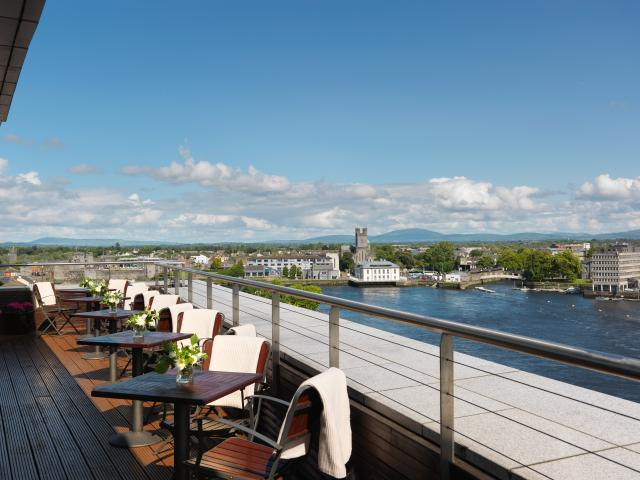 Limerick Strand Hotel Rooftop Terrace