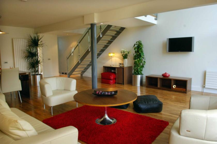 Walled Garden Lodges sitting room