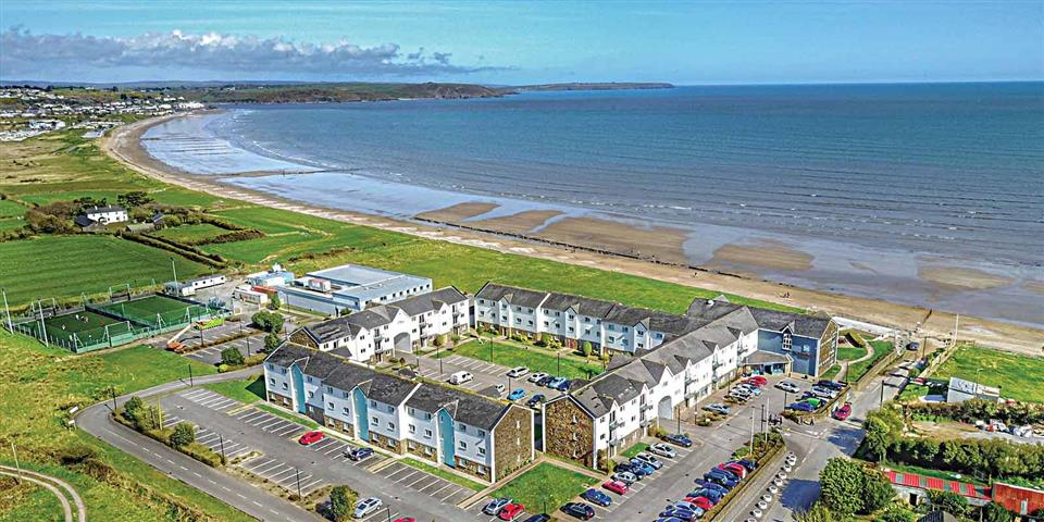 Quality Hotel Youghal Ariel View