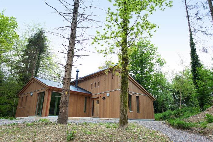 Ballyhoura Forest Luxury Homes Exterior