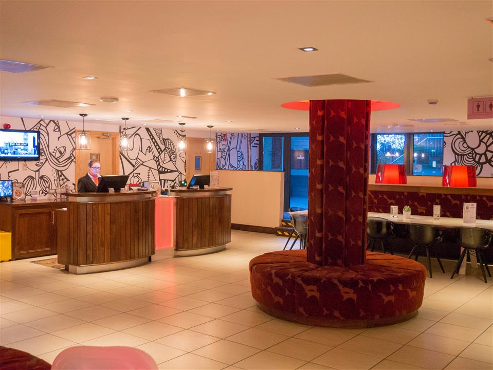 The George Hotel Reception
