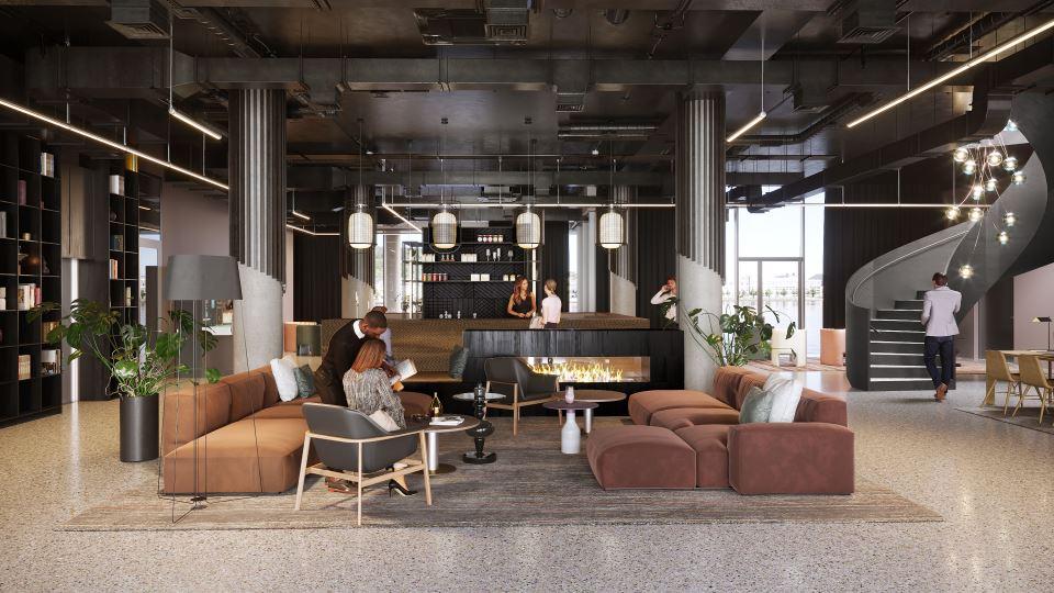 Quality Hotel River Station Lobby