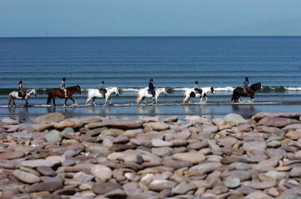 Castleross Park Resort horseriding