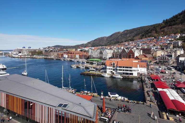 Scandic Torget Bergen Utsikt