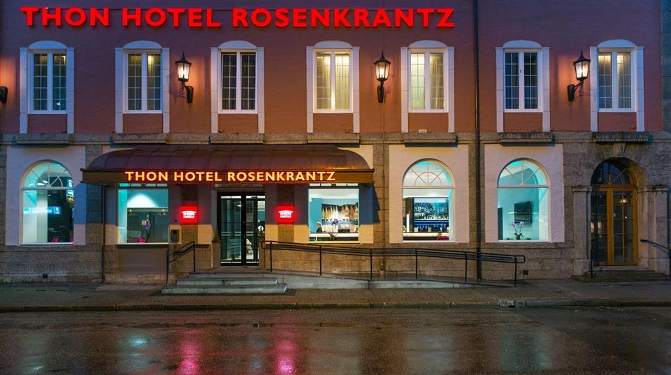 Thon Hotel Rosenkrantz Bergen Fasad