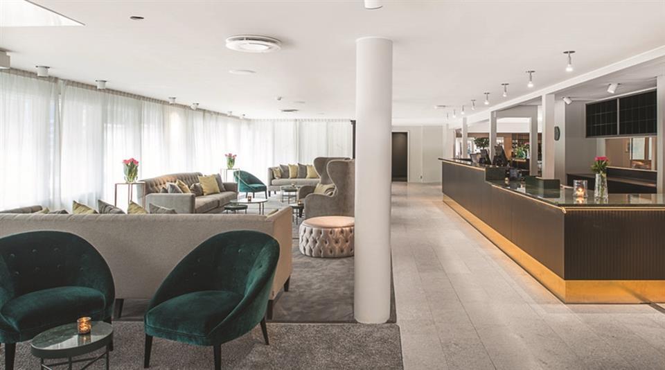 Quality Hotel Ekoxen Linköping Lobby