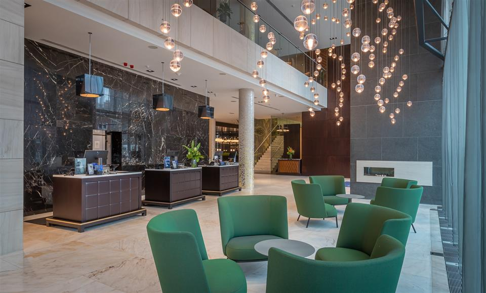 Radisson Blu Royal Hotel Dublin City Reception