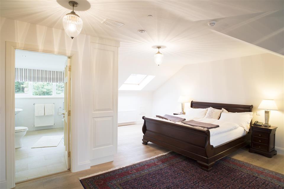 Screebe House Spa Suite Bedroom