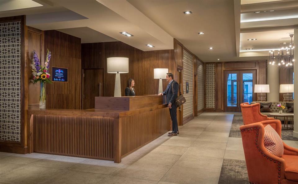 The Killeshin Hotel Reception