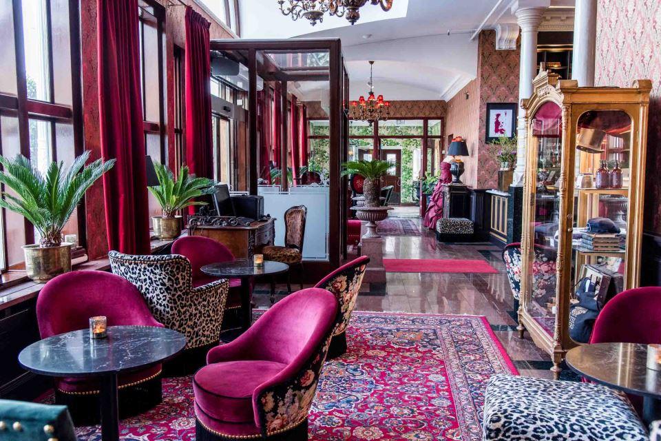 Hôtel Eggers Reception