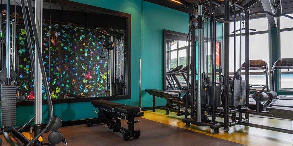 Thon Hotel Harstad Gym