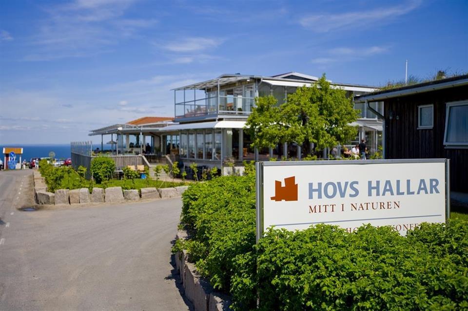 Hotell och Restaurang Hovs Hallar Fasad