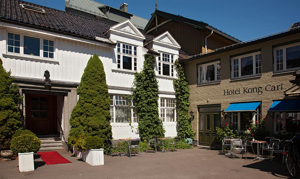Hotel Kong Carl Fasad