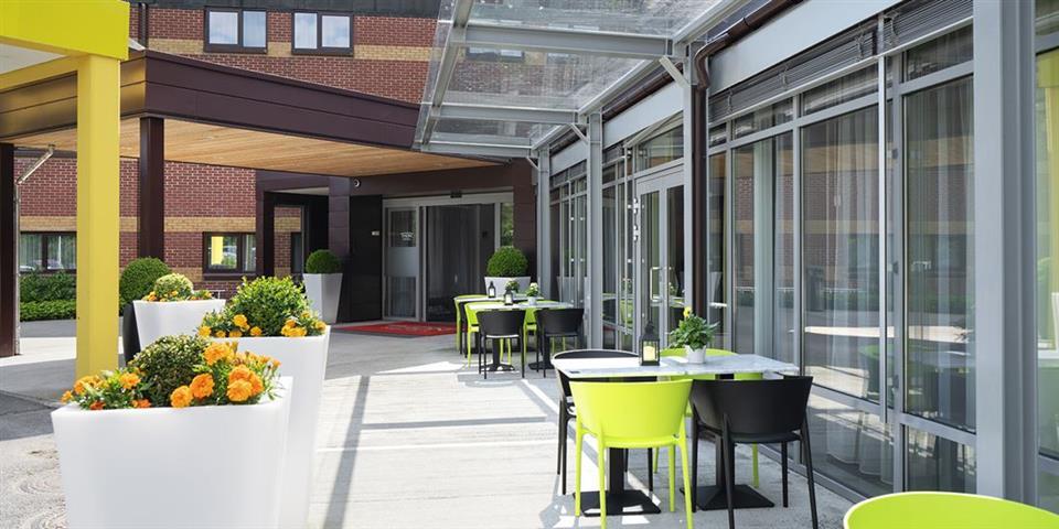 Thon Hotel Bergen Airport Uteservering