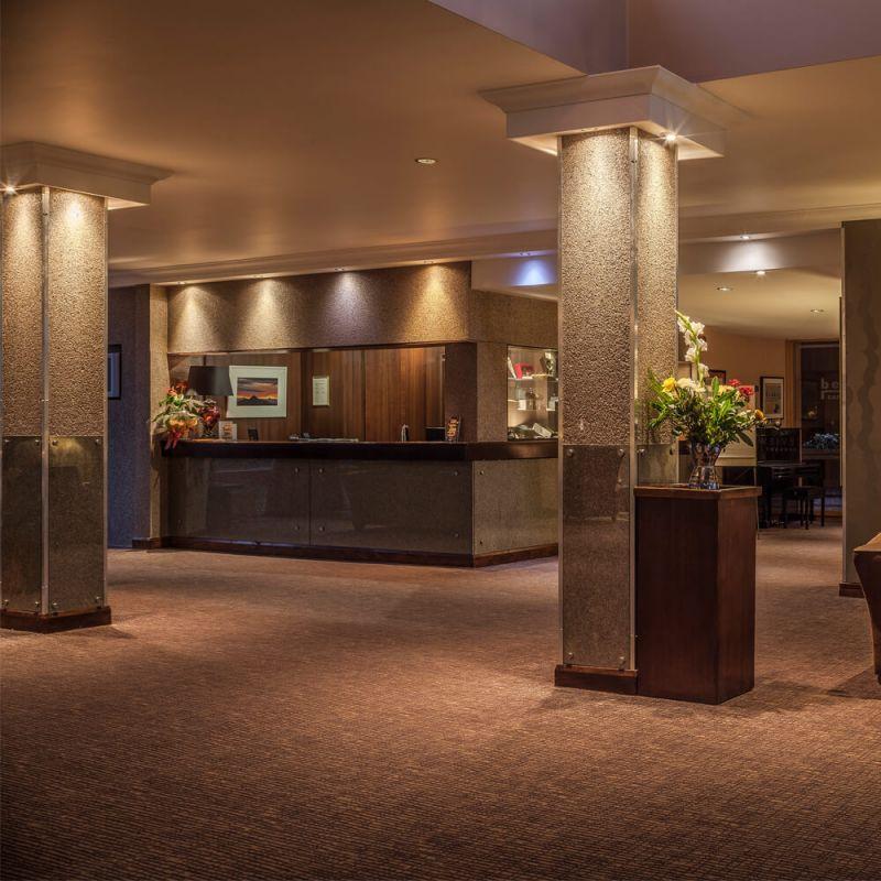 Westport Woods Hotel Reception