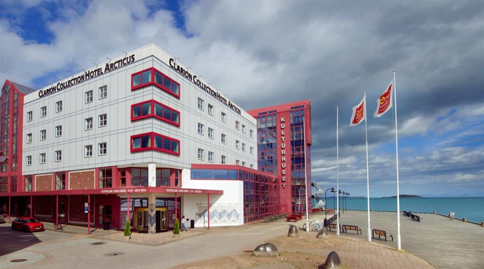 Clarion Collection Hotel Arcticus Fasad