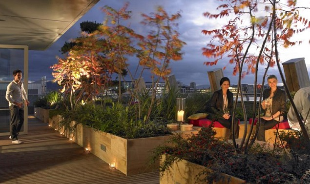 The Gibson Hotel Terrace