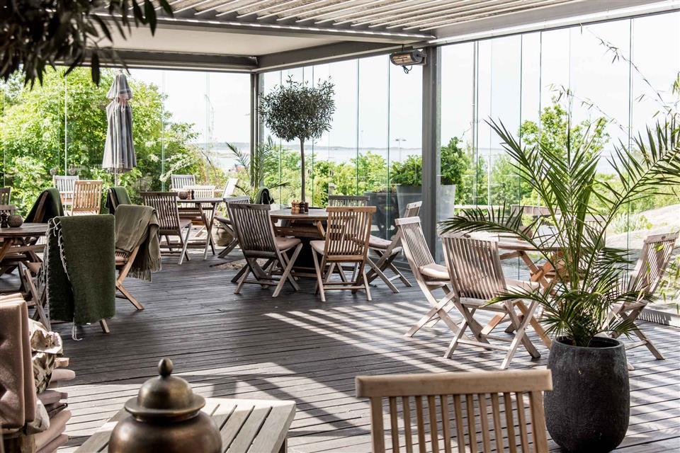 Arken Hotel And Art Garden Spa Outdoor Restaurant Diner
