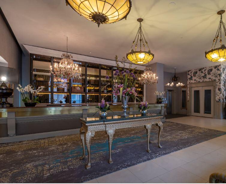 Trinity City Hotel Reception