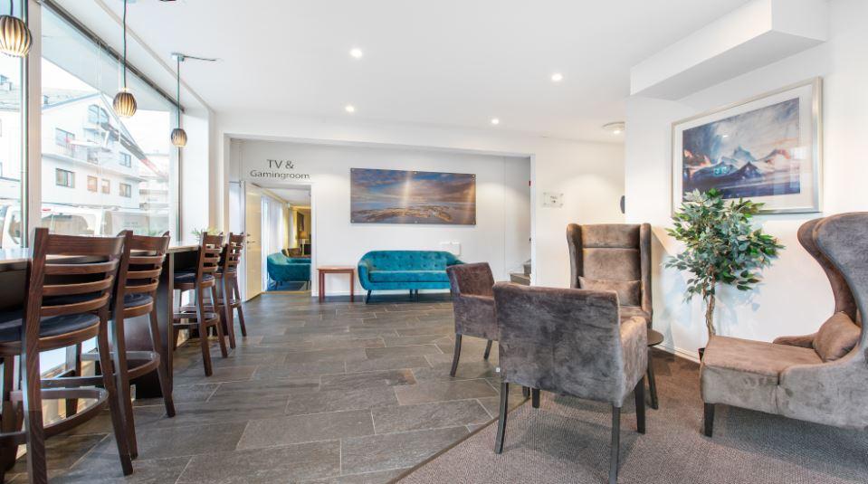 Comfort Hotel Fosna Lobby
