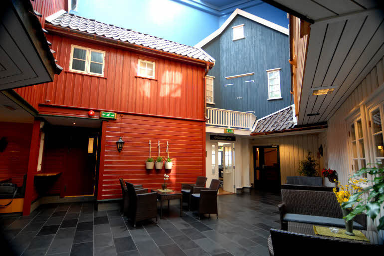 Scandic Grimstad Lobby