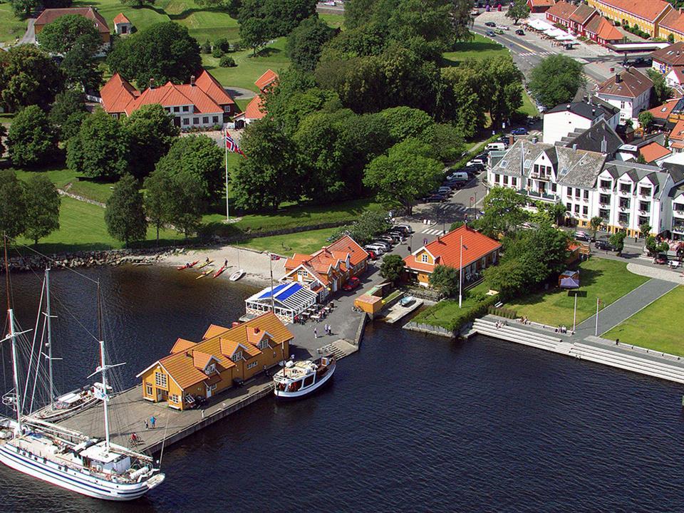 Hotel Wassilioff Flygbild
