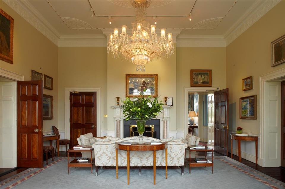 The K Club Hotel Interior