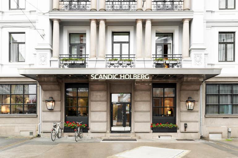 Scandic Holberg Hotel Entré